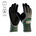 DODANIE 3-7 DNÍ! Pracovné rukavice ATG MAXICUT OIL 3/4 máčané. Protiporezné rukavice do olejnatého prostredia. Komfortné a flexibilné rukavice. Bez silikónu. Máčané v nitrile a nitrilovej pene. Veľkosť 7-11. Norma: EN 388 (4331). Protiporez 3.