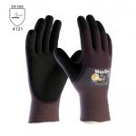 BEŽNE SKLADOM! Pracovné rukavice ATG MAXIDRY (56-425) - do vlhkého prostredia, olejuvzdorné, bariérová ochrana proti olejom, ľahké, tenké, pružné, obratné a pohodlné. Bezpečný úchop, protišmyková povrchová úprava. Veľkosť: 8-11. Norma EN 388 (4121).