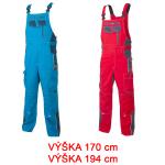 Pracovné odevy - Montérkové nohavice VISION s náprs. 170/194 cm
