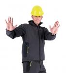 Pracovné odevy - Softshellová bunda OLZA pánska