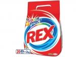 Na objednávku. Prací prášok REX - 20 pracích dávokna pranie farebného prádla.