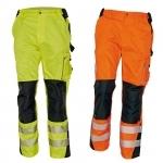 Pracovné odevy - Reflexné nohavice ALLYN HV do pása