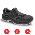 Pracovná obuv – Sandále BERN S1 čierne