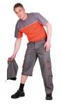 Pracovné odevy-Monterkové nohavice do pása DESMAN 2v1