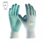 BEŽNE SKLADOM! Pracovné rukavice ATG MAXIFLEX ACTIVE (34-824) - pôsobia priaznivo na pokožku počas a po práci prostredníctvom uvoľňovania tisícov zapuzdrených kapsúl, ktoré obsahujú Aloe vera, vitamín E a morské riasy. Veľkosť: 6-8. Norma EN 388 (4131).