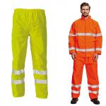 Pracovné odevy - Reflexné nohavice GORDON do dažďa