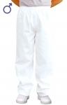 Pracovné odevy - Nohavice celoguma 2208 pánske biele