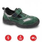 Pracovná obuv – Sandále AMSTERDAM O1 zelené