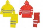 Pracovné odevy - Reflexné oblečenie do dažďa 604