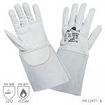 Pracovné rukavice UNDULATA zváračské sivé - cena od 4,93 €