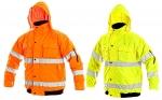 Pracovné odevy - Zateplená reflexná bunda LEEDS 2v1