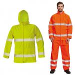 Pracovné odevy - Bunda do dažďa GORDON reflexná