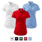 Pracovné odevy - Dámska blúzka CHIC (Nr.214) krátky rukáv