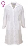 Pracovné odevy - Plášť LW56 Princess dámsky biely