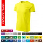 Pracovné odevy - Tričko BASIC (129) - cena od 2,43 €