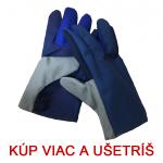 Pracovné rukavice ZIGO textilné keprové - cena od 0,57 €