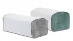 Papierové utierky Zik-Zak 5000ks, jednovrstvové, zelené, šedé recyklované
