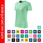Pracovné odevy - Dámske tričko BASIC (134) - cena od 2,64 €