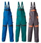 Pracovné odevy - Dámske montérkové nohavice na traky COOL TREND