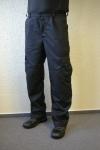 Pracovné odev - Čierne nohavice SBS ZIGO, kapsáčové vrecká