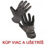 Pracovné rukavice BUSTARD čierne veľ.6 - cena od 0,59 €