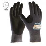 BEŽNE SKLADOM! Pracovné rukavice ATG MAXICUT Ultra (44-3745). Poskytujú vysokú mieru ochrany a pohodlia. Flexibilita a zručnosť je zachovaná. Vystuženie medzi palcom a ukazovákom. Veľkosť 9,10. Norma EN 388 (4542). Protiporez 5.