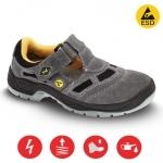 Pracovná obuv – Sandále BERN ESD S1 velúr