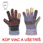 Pracovné rukavice ROCKY/ ROBIN - cena od 0,78 €