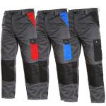 BEŽNE SKLADOM! Montérkové nohavice PHOENIX CEFEUS do pása, majú zosilnené kolená, predné klinové vrecká, vrecko na meter, zadné jednoduché vrecko, bočné vrecká a pás s putkami na opasok. Sú vyrobené zo zmesi 65% polyester a 35% bavlna, 190 g/m2. Veľkosť 4