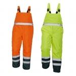 Pracovné odevy - Reflexné nohavice PADSTOW zateplené