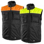 Pracovné odevy - Zimná vesta SEATLE HV reflexná