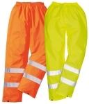Pracovné odevy - Reflexné nohavice H441 do dažďa cena od 9,90€