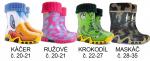 SKLADOM!  Cenovo, kvalitatívne a výzorovo  bezkonkurenčná detská obuv do dažďa s vyberateľnou vložkou a protišmykovou podrážkou, ktorú si deti užijú po celý rok.