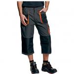 BEŽNE SKLADOM! Montérkové nohavice EMERTON 3/4 dĺžky, nohavice do pása, 65% polyester, 35 % bavlna, 270 g/m2, zosilnenie 300D polyester/PU, Veľkosť: 48-62