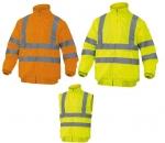 Pracovné odevy - Reflexná bunda RENO HV 2v1 zateplená