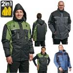 Pracovné odevy - Bunda zimná  ALLYN 2v1