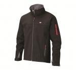 DODANIE 3-7 DNÍ! Vodeodolná pánska softshellová bunda Lee Cooper s vreckami na zips, s nastaviteľnou šírkou manžety pomocou suchých zipsov. Materiál: 94% polyester, 6%elastan, podšívka: 100% polar fleece. Farba: čierna. Veľkosť: M – XXL