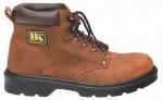 pracovná obuv – Členková brúsená koža HORSE vodeodolné