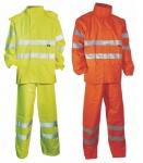 Pracovné odevy - Reflexné oblečenie do dažďa YORK