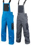 Pracovné odevy - Mont. nohavice s náprsenkou 4TECH predĺžené