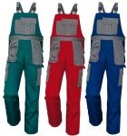 Pracovné odevy - Montérkové nohavice s náprsenkou MAX EVOLUTION
