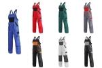 Pracovné odevy - Montérkové nohavice EMIL/ROBIN s náprsenkou