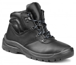 Pracovná obuv - zateplená členková FARMER DELTA O1 čierna