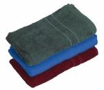 Pracovná osuška froté LUX  farebná,400g/m2, 70x140cm