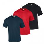 Tričko KEYA tmavomodré/červené/čierne s logom