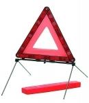 Trojuholník výstražný ,plastový,skladací so stojanom