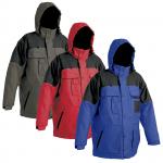Zateplená nepremokavá bunda ULTIMO s podšívkou. Kapucňu možno ukryť v límci. b388471be84