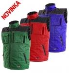 Pracovné odevy - Zimná vesta SEATLE s logom