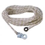 Pracovné lano AC100 karabínou 40 m