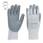 DODANIE 3-7 DNÍ! Pracovné rukavice ATG MAXIFOAM (34-800) - povrstvené nitrilovou penou. Povrch rukavíc odvádza olej a zabezpečuje tak pevnejší úchop. Mnimálna priepustnosť obmedzuje dráždenie pokožky. Veľkosť: 8-10. Norma EN 388 (4131)